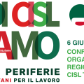 Assemblea Organizzativa Regionale CISL: il 6 giugno nella sede di Trento