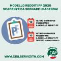 Modello Redditi: le scadenze 2020-2021 da segnare in agenda